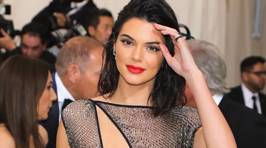 Kendall Jenner leaves little to the imagination at the Met Gala