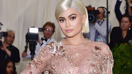 Kylie Jenner looks totally different after ditching her usual wigs to reveal her natural hair