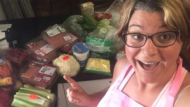 Nikola Green has mastered the art of meal prepping.
