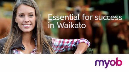 Waikato: Win a workplace Shout with MYOB
