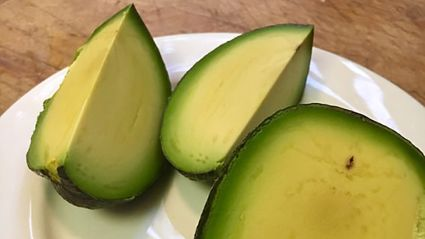 This has got to be the world's most perfect avocado