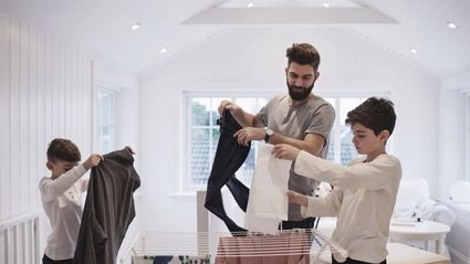 Why you should never dry your clothes indoors