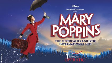 Mary Poppins in New Plymouth in July!