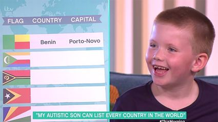 This 6-year-old boy with autism has an incredible talent that will blow you away