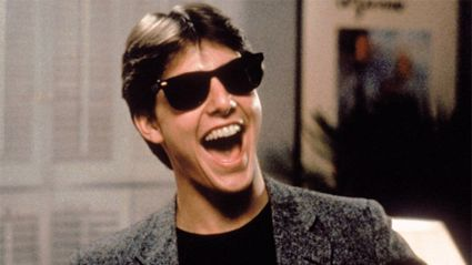 Tom Cruise as Joel Goodsen in Risky Business. Photo / Warner Bros