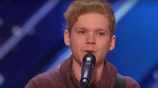 America's Got Talent contestant is tipped to be the next Ed Sheeran after breathtaking performance