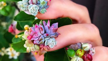 Succulent nails are the crazy new manicure trend