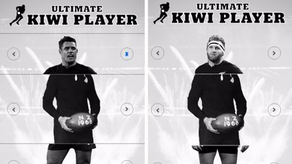 Estelle and Rawdon make the ultimate New Zealand rugby player