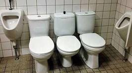 Can you spot what's wrong with these toilets?