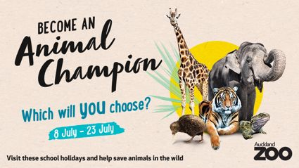 Win a family pass to the Auckland Zoo!