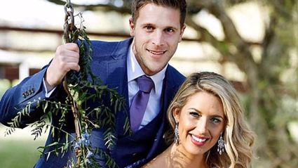 Married At First Sight's Jesse has stripped down in a steamy naked gym selfie