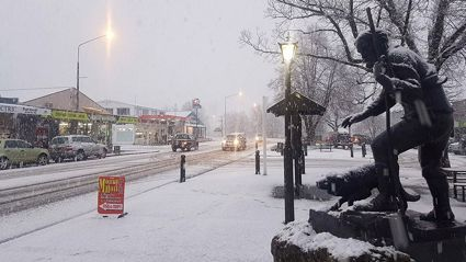 Live weather tracker: Worst storm of year brings snow, icy conditions, rain, and high winds
