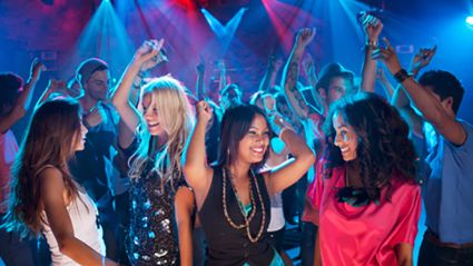 According to a new study if you're still clubbing at this age then you're considered 'tragic'