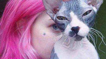 'Rainbow cat' hair is the hottest new trend — and it's super cute!