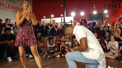 WATCH: This epic dance routine turned into a jaw-dropping marriage proposal