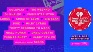 The iHeartRadio Music Festival line up has just been announced and it is MASSIVE!