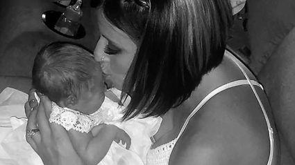 Newborn baby dies after being kissed