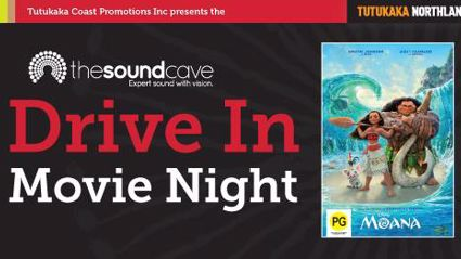 TCWF - Soundcave Drive in Movie Night featuring Moana