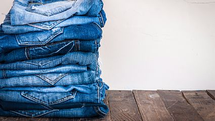 The most-pinned jeans on Pinterest are a bit different...