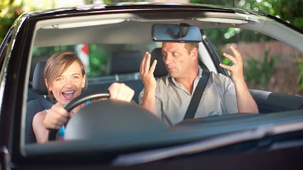 Smarter people are more likely to be bad drivers*