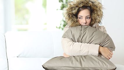 Is your office air-con making you freezing cold? You're not alone. Photo- iStock