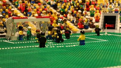 Brazil v Germany Lego animation!