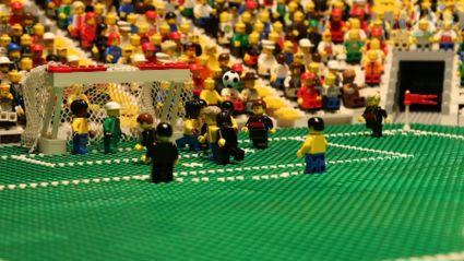 Brazil v Germany Lego animation!