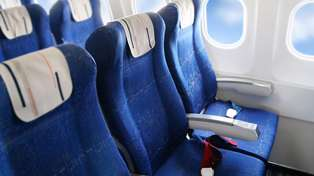"""This is who actually """"owns"""" the armrest on a plane..."""
