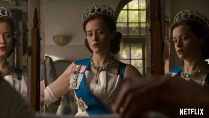 Watch the intense first trailer for The Crown's second season