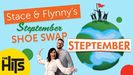 Stace & Flynny's Steptember Shoe Swap Challenge!