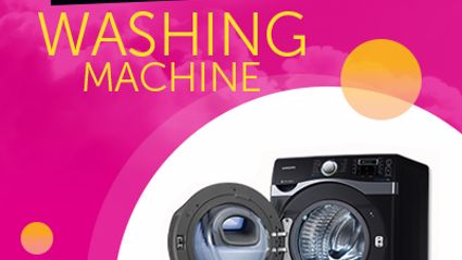 WIN Samsung's Ultra Large 16kg Washer