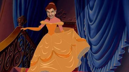 Someone has photoshopped Mr Bean's face onto Disney Princesses - and the results are hilarious!