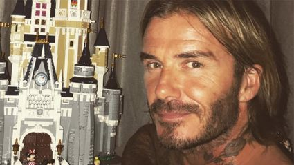 David Beckham's adorable surprise for his 6-year-old daughter Harper