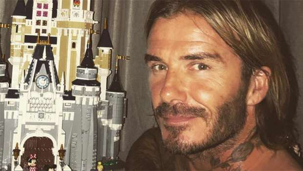 David Beckhams Adorable Surprise For His 6 Year Old Daughter Harper