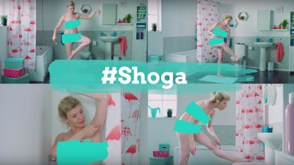 Experts give hilarious names to the poses ALL women attempt when shaving their legs in the shower