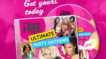 The Hits Ultimate Party Anthems album is out now!