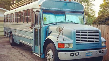 Father and son renovate an old school bus and the results are awesome!