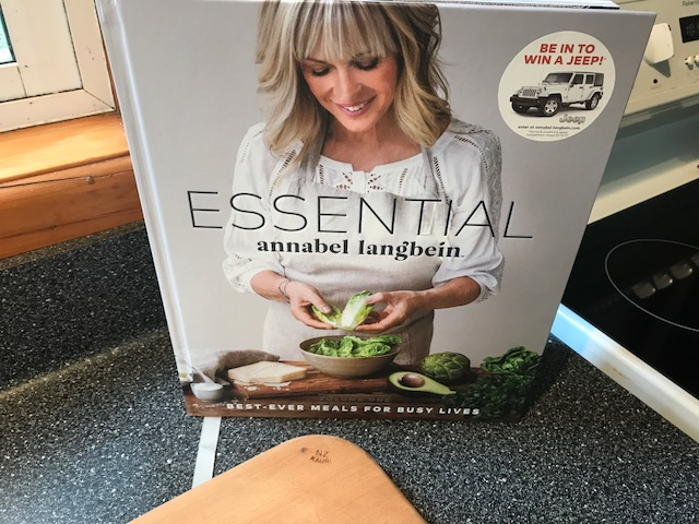 Got my hands on this great new book from Annabel Langbein 'Essential' and decided to have a go at cooking my own loaf of bread