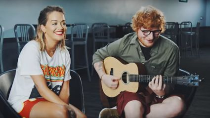 Ed Sheeran and Rita Ora release surprise acoustic cover of 'Your Song' - and it is breathtaking!