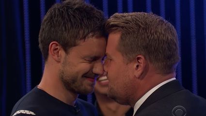 Watch James Corden's epic musical riff-off with Liam Payne