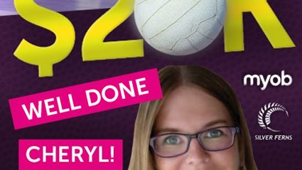 Take 20 Shots At 20K: Congratulations to Cheryl the chosen one!