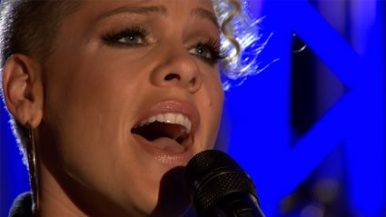 Pink's emotional cover of Sam Smith's Stay With Me will blow you away