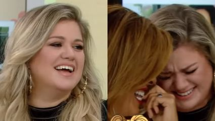 Kelly Clarkson confuses vibrator for kids toy during game of Never Have I Ever