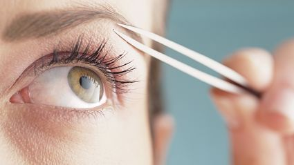 Women are now braiding their eyebrows in a bizarre new trend...