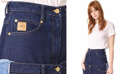 You won't believe how much these bizarre double layer jeans cost
