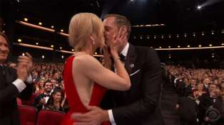 Why Nicole Kidman was kissing another man at the Emmy Awards