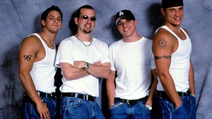 Remember boy band 98 Degrees? This is what they look like now...