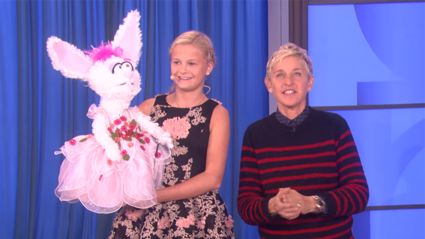 Watch America's Got Talent winner Darci Lynne's impressive performance on Ellen