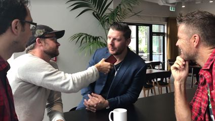 Flynny and Producer JT interview Pete Evans and Manu Feildel in anticipation for MKR NZ!