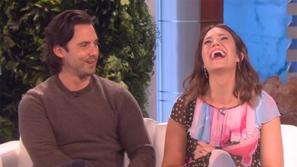 Mandy Moore's TV husband Milo Ventimiglia approves of fiance
